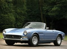Ferrari 275gts:  Like a big Fiat spider.  Oh sorry, the Fiat is like a little 275GTS.  That's more like it.