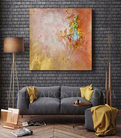 #Minimalist #Painting #Gold #Abstract #Print #Cooper by #JuliaApostolova  #Minimalist #Painting, #Gold #Abstract, #Print, #CooperandGold #GoldPainting, #Abstractlandscape, #GoldArt, #Sunshine, #Home #Office #Decor #wallart #interior #etsy