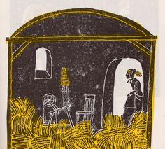 Pura paja, en la concepción de Eric Carle (1970).