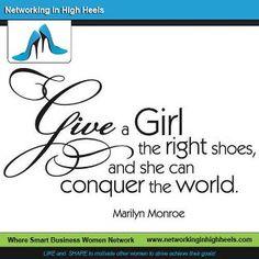 A great pair of shoes and terrific handbag, look at world!