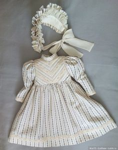 53 trendy Ideas for sewing baby doll clothes children Girls Fashion Clothes, Baby Girl Fashion, Kids Fashion, Baby Doll Clothes, Baby Dolls, Children Clothes, Dresses Kids Girl, Toddler Girl Outfits, Victorian Children's Clothing