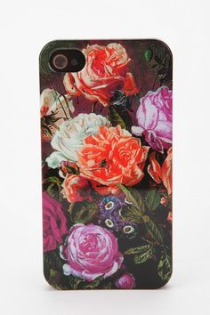 Love the old school flower patterns as long as they are small!! UrbanOutfitters.com > Fun Stuff Floral Phone Case