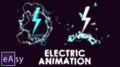 Hi guys. It's a new easy After Effects tutorial. Today I'll show you how to make an electric animation. I prepared for you a two compositions with using shap...