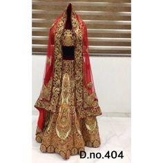 Exclusive Bridal Designer Lehenga ( D.No.404 )