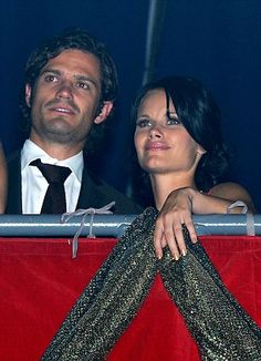 Prince Carl Philip and Sofia Hellqvist in Stockholm in September 2011...