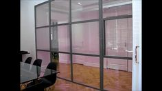 DreamGlass® Partial Partioning of Office Space - Privacy Glass
