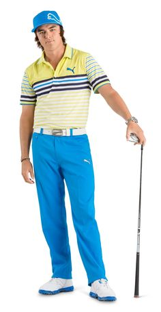 "July 10, 2013: ""The all new, Brilliant Blue! Autumn/Winter 2013 is now available,"" tweeted Puma Golf as Rickie Fowler modeled the latest fashion."