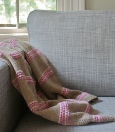 Simple Baby Blanket PDF Knitting Pattern by casapinka on Etsy