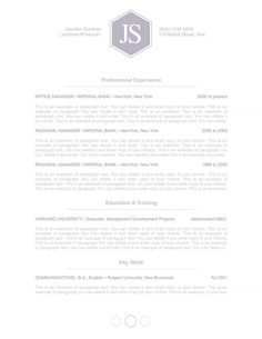 Classic Resume Template 110610 Is For Anyone Looking To Create A  Professional Resume And Cover Letter