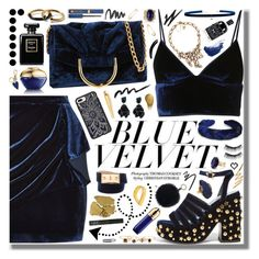 """""""Blue Velvet;"""" by jennn ❤ liked on Polyvore featuring T By Alexander Wang, Pinko, Alexander McQueen, MR by Man Repeller, Kismet by Milka, STELLA McCARTNEY, Club Monaco, Casetify, Valentino and Jeweliq"""