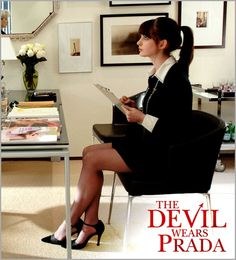 I've seen Anne Hathaway in Princess Diaries, but I started really, really liking her when I saw her in The Devil Wears Prada. :)