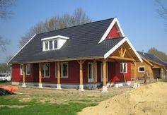 Zelf houten huis schilderen levert besparing op