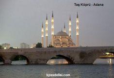 Dünya'nın aktif olarak halen günümüzde de kullanılan en eski köprüsü; Türkiye'deki Adana ilimiz sınırlarında, Seyhan nehri üzerindeki Taş Köprü'dür.  Bu içerik KpssDelisi.com 'dan alınmıştır : http://kpssdelisi.com/question/dunyanin-enleri-listesi/