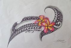 how much do hawaiian tattoos cost Hawaiian Flower Tattoos, Tribal Flower Tattoos, Polynesian Tribal Tattoos, Tribal Tattoos For Women, Polynesian Art, Beautiful Flower Tattoos, Tribal Tattoo Designs, Animal Tattoos, Polynesian Designs