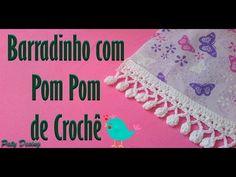 Barradinho com Pom Pom de Crochê #02 - YouTube