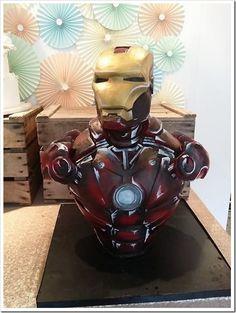 Amazing Iron Man Cake made by Sweet As Sugar Cakes