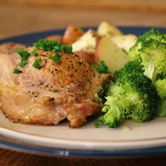 Blue Cheese, Bacon and Chive Stuffed Pork Chops Allrecipes.com
