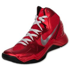wholesale dealer 4ffc4 f041a Mens Nike Zoom Hyperdisruptor Basketball Shoes Basketball Shoes For Men,  Nike Shox, Red Shoes