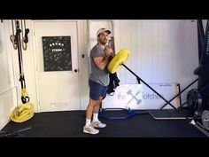 7 Best Landmine Exercises for Tightening Your Physique is part of health fitness Quotes Weightloss - The landmine exercise device has exploded in popularity over this past year Here's what I consider to be the best landmine exercise for each muscle group Shred Workout, Bar Workout, Triceps Workout, Workout Challenge, Good Back Workouts, Chest Workouts, Back Exercises, Gym Workouts, Stretches