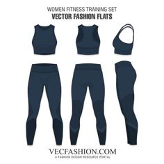 Explore our creative vectors for Women's Sportswear. This section also have other fashion flats suitable for Running, Fitness and Training. Womens Workout Outfits, Sport Outfits, Fashion Portfolio Layout, Modelos Fitness, Fitness Design, Fashion Flats, Lingerie, Fashion Sketches, Sports Women
