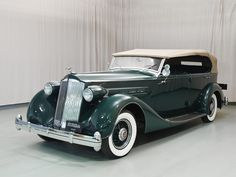 1936 Packard Eight Phaeton - Hyman Ltd. Classic Cars.  Formerly owned by Gordon W. Reed and Gordon Reed, his father.  Bought in 1959 from Wendell Chapell.
