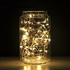 Addlon LED Starry Novelty Christmas String Lights,Decor Rope Flexible Copper Wire with 16ft,50leds AA Battery Powered for Outdoor and Indoor Environments,wedding,christmas Party (Warm White)