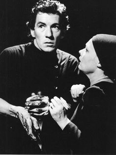 Ian McKellen and Judi Dench, as Macbeth and his Lady