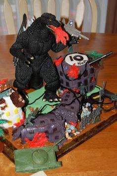 Godzilla Cake Ricpe