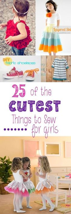 http://crazylittleprojects.com/2014/02/25-cutest-things-sew- girls.html *******SHOE LACES******