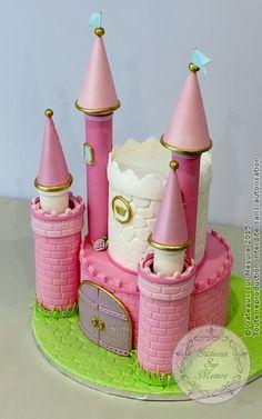 Commander gateau anniversaire chateau princesse