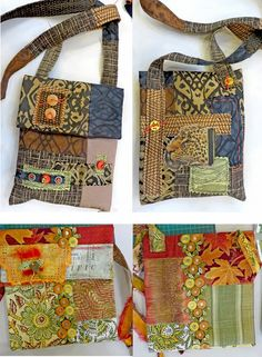 Ro Bruhn Art: Teaching, teaching and more teaching. Ro Bruhn Style: Teachings, teachings and more teachings. Fabric Handbags, Fabric Purses, Fabric Bags, Fabric Basket, Scrap Fabric, Patchwork Bags, Quilted Bag, Patchwork Patterns, Purse Patterns