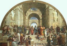 De school van Athene is een fresco van de Italiaanse renaissancekunstschilder Rafaël. Het toont onder andere de filosofen Plato, Aristoteles en Socrates. De fresco werd geschilderd tussen 1509 en 1510 voor de appartementen van paus Julius II in het Apostolisch Paleis in het Vaticaan. De schildering bevindt zich in de zaal Stanza della Segnatura.
