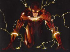Barry Allen' Harnesses The Speed Force In Awesome New Poster For ...