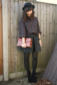 the stylish heart: autumnal plaid