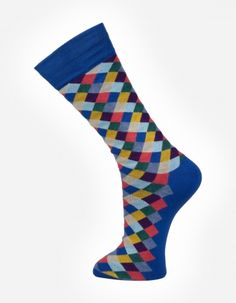 Check no.9001 Effio #Dandy #Mensstyle #Mensfashion #Gentleman #Socks #DutchDesign #MadeinItaly #Check #Colourful
