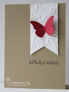 Stampin' Up! CAS Birthday Card