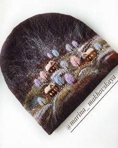 Nuno Felting, Needle Felting, Cross Stitch Bird, Doll Costume, Felt Christmas, Felt Art, Embroidery Techniques, Felt Flowers, Hand Warmers