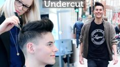 Undercut Quiff Hairstyle ☆ Professional hairstyling tips for men ☆ By Sl...