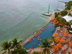 Sheraton Waikiki Hotel infinity pool.  We were here not to long ago.