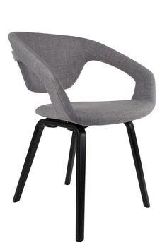 Flexback armchair - Boer Staphorst | #Zuiver #flexback #stoel Bekijk meer op https://www.boer-staphorst.nl/stoelen/