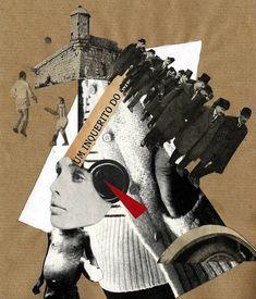 Mariana Mizarela recupera la fuerza subversiva que el fotomontaje tuvo en el periodo de entreguerras para deconstruir una realidad demasiado caótica como para poder ser interpretada con procedimientos plásticos tradicionales. La negación pura del primer dadá dio paso al agit-prop de El Lissitsky y Rodchenko, pero también al espíritu satírico de John Heartfield y Hannah Höch. Dada Collage, Collage Art, Collages, John Heartfield, Hannah Höch, Dadaism Art, Dada Artists, Dada Movement, Surrealist Collage