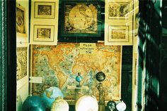 Maps and globes: the theme of my house. Map Compass, Map Globe, Small World, Globes, First World, Staging, Heavenly, My House, Maps