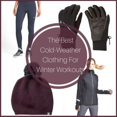 The Best Cold Weather Clothing For Winter Workouts-Beat the snow and freezing temps of winter by gearing up in the best cold-weather clothing guaranteed to keep you cute and cozy during any outdoor workout! Cold Weather Running Gear, Winter Running, Cold Weather Outfits, Winter Outfits, Fitness Tips For Women, Winter Tops, Outdoor Workouts, Best Jeans, North Face Women