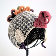 turkey hat - love all these kids' hats