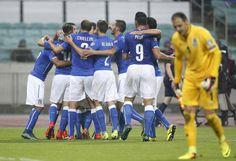 Azerbaijan-Italia 1-3 FOTO e PAGELLE - Foto - Ansa.it