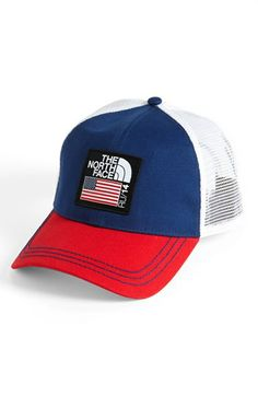 03f6477c109 The North Face  Village Mountain - USA  Trucker Hat available at  Nordstrom  The
