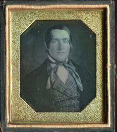 Sixth Plate Daguerreotype of A Man with An Earring in His Left Ear C 1850 | eBay