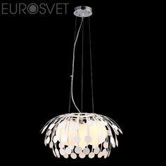 Подвесной светильник Евросвет 50008/3 белый