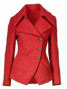 Love this fall coat! Want a red coat so bad! Too bad Miami has no winter Mode Outfits, Casual Outfits, Fashion Outfits, Womens Fashion, Mode Chic, Mode Inspiration, Modest Fashion, Look Fashion, Autumn Winter Fashion