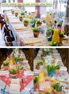 Rustic/Garden styled baby shower @Angie Hasseman @Dawn McGinnis